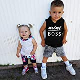 "Baby Tops,SuperUS""Mini BOSS"" Toddler Baby"