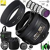 Nikon AF-S DX NIKKOR 35mm f/1.8G Lens and Pro Cleaning Accessories