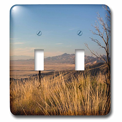Danita Delimont - Arizona - Arizona, Chiricahua National Monument. Sugarloaf Mountain - Light Switch Covers - double toggle switch - Outlet Sugarloaf
