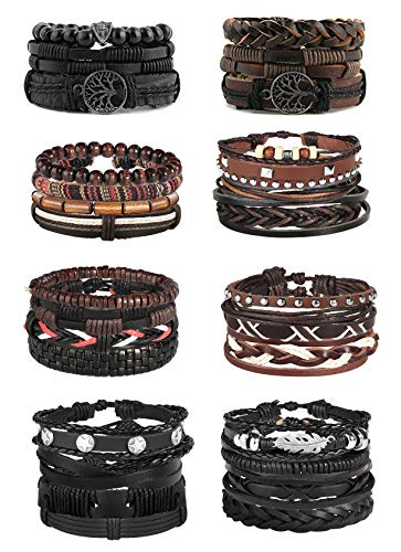 Jstyle 26 28Pcs Braided Bracelet Adjustable product image