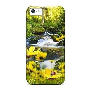 diy phone caseAbbyRoseBabiak ipod touch 5 Hybrid Cases Covers Bumper Waterfalls Free Spring Timediy phone case