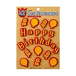 Cake Mate Plastic Decorating Tip - 4 per pack -- 12 packs per case.