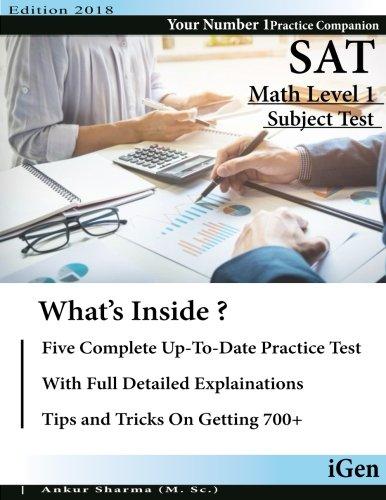 math 1 sat subject test - 6