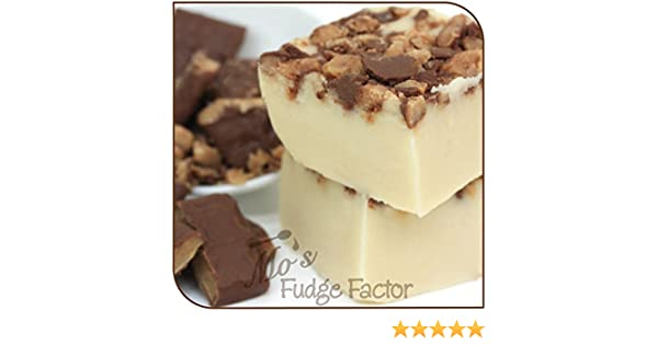 Amazon.com : Mos Fudge Factor, Vanilla Butter Crunch Fudge 1 pound : Grocery & Gourmet Food