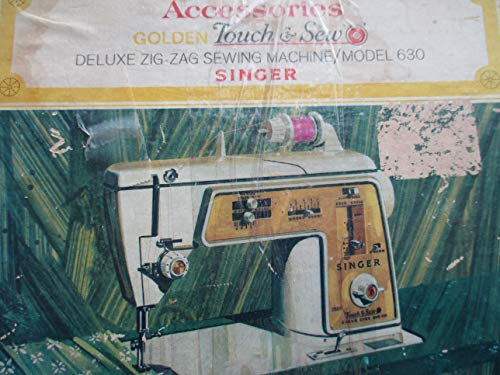 Singer Touch & Sew Deluxe Zig-Zag Sewing Machine Model 630 Cams