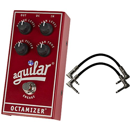 Aguilar OCTAMIZER Analog Octave Bass Pedal w/ 2 Cables by Aguilar