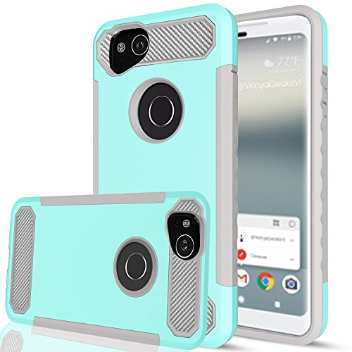 (Google Pixel 2 Case with HD Screen Protector,AnoKe[Prism Series] Heavy Duty Dual Layer Protective Hybrid Armor Defender Case for Google Pixel 2 TQW)