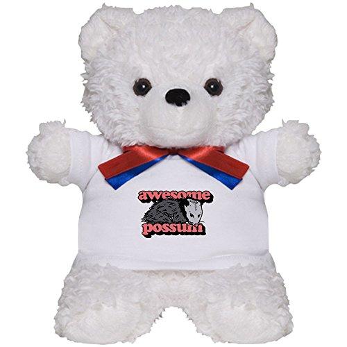 CafePress - Awesome Possum - Teddy Bear, Plush Stuffed Animal