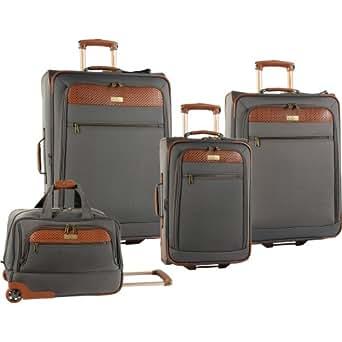 Tommy Bahama Luggage Retreat Ii 4 Piece Set, Brownstone, One Size