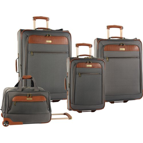 Tommy Bahama Luggage Retreat Ii 4 Piece Set, Brownstone, One Size