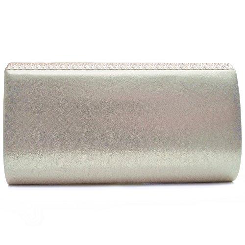 2485de6a35f8e Vain Secrets Damen Handtasche Umhänge Tasche Clutch Abendtaschen in vielen  Farben Champagne LiJNTWYZx ...