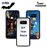 O BOSSTOP 10PCS Sublimation Blank Phone Cases for Samsung Galaxy S8 Sublimation Blanks Printable DIY Phone Cases