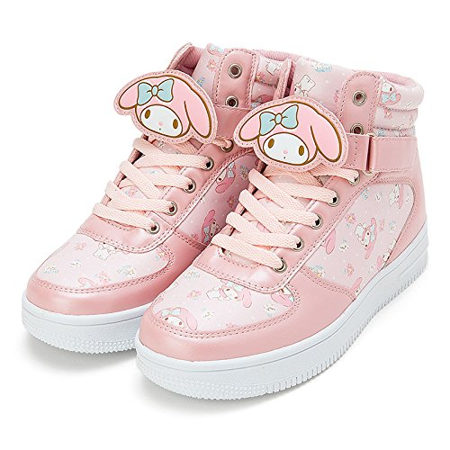 Sanrio My Melody character clip with high-cut sneakers L size From Japan New (Monster High Girls Names)
