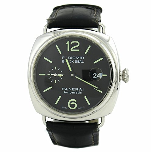 Panerai Radiomir Black Seal swiss-automatic mens Watch PAM00287 (Certified Pre-owned)