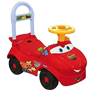 Amazon.com: Lightning McQueen Activity Ride On: Toys & Games