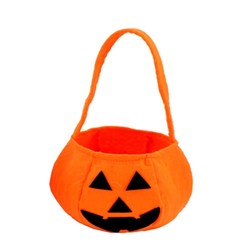 Zucca Dolcetto o Scherzetto Borsa di Halloween Idea regalo per natale e compleanno Costume Travestimento Accessori
