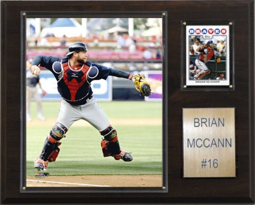 Brian Mccann Braves (MLB Brian McCann Atlanta Braves Player Plaque)