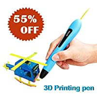 3D Doodler Drawing Artist Pens for kids, Create Art and Craft, top toys of the year 2018, Creative birthday present and practice toys for 4 5 6 7 8 9 years old boy girls –Gifts for kids  (Blue)