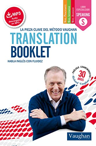 Translation booklet pocket de Richard Vaughan