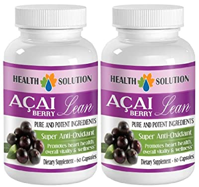 immune support now - ACAI BERRY LEAN - PURE AND POTENT INGREDIENTS - acai gel capsules - 2 Bottles (120 Capsules)