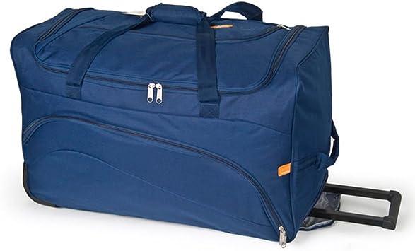 15 litros 50 cm GABOL Bolso Ruedas L Roll Azul Bolsa de Viaje
