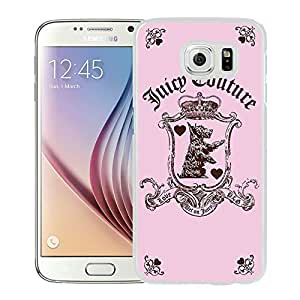 Fashion Designed Cover Case For Samsung Galaxy S6 With Juicy 01 White Phone Case