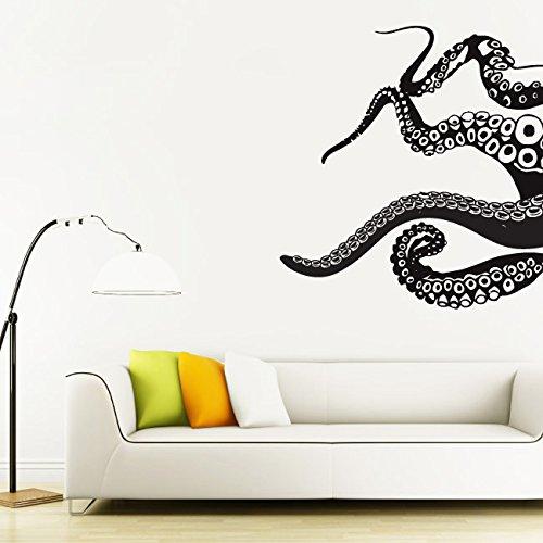 Sticker Decals Octopus Tentacles Bedroom product image