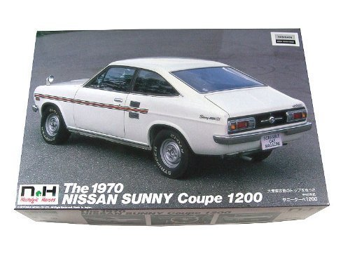 1 24 Nissan Sunny coupe 1200GL NH24 (japan import)