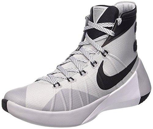 Nike Mens Hyperdunk 2015 Basketball Shoes, Azul/Blanco/Negro, 44 D(M) EU/9 D(M) UK