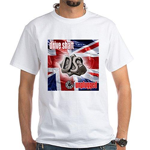 CafePress Drive Shaft Unplugged - 100% Cotton T-Shirt, White