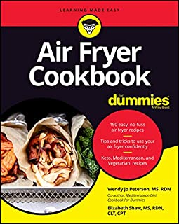 Book Cover: Air Fryer Cookbook For Dummies