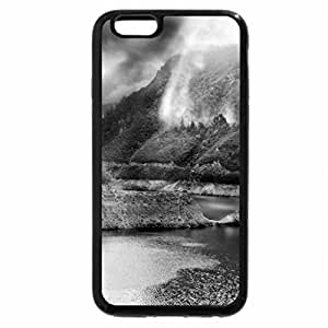 iPhone 6S Case, iPhone 6 Case (Black & White) - Piva Canyon