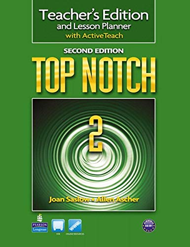 Top Notch Level 2 Teacher's Edition with CD pdf