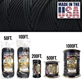 TOUGH-GRID 550lb Paracord/Parachute Cord - 100% Nylon Genuine Mil-Spec Type III...