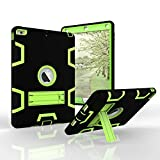iPad Air Case - Fisel Three Layer PC & Silicon High Impact Hybrid Drop Proof Armour Defensive Full Body Protective Case With Kickstand for iPad Air iPad 5 (2013 Model)