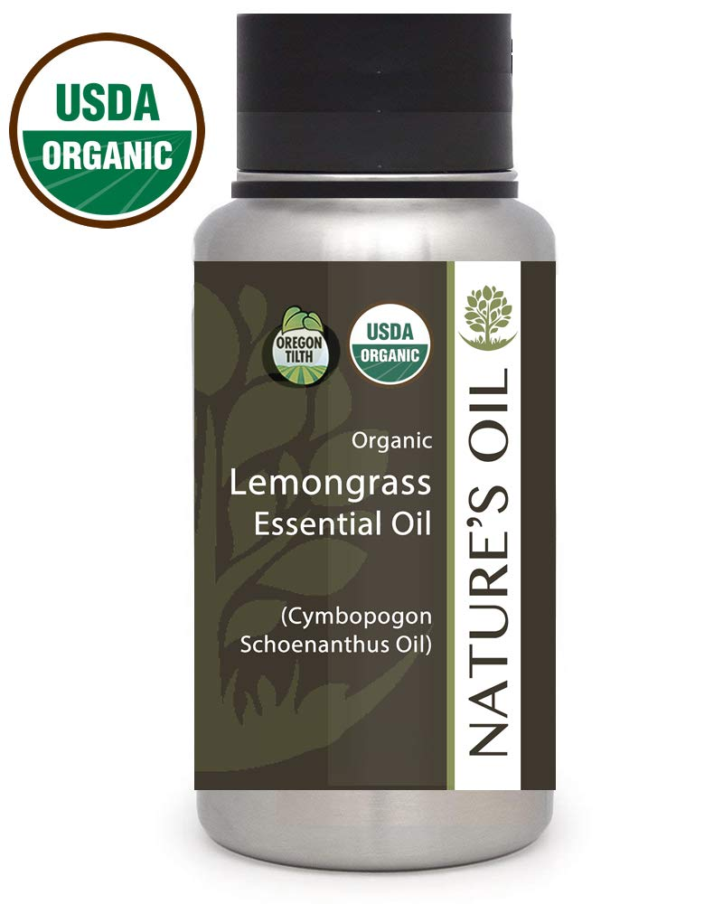 Best Lemongrass Essential Oil Pure Certified Organic Therapeutic Grade 1Lb