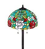 Amora Lighting AM084FL16 Tiffany Style Roses Floor Lamp 61 in