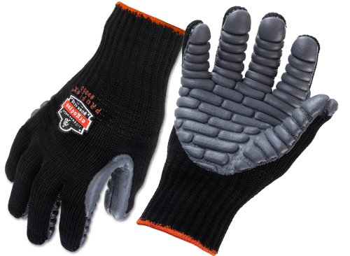 Ergodyne ProFlex 9000 Certified Lightweight Anti-Vibration Work Glove, Medium