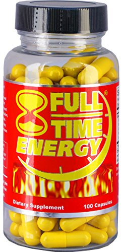 Full Time Energy Pills Capsules Silver