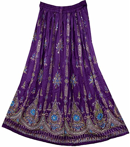 Indiana M Hippie Mauve Donna Gonna Gypsy Estate Maxi Paillettes Prendisole Da L Boho Purple Splendido pqPSIxwES