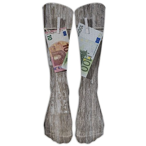 Money Women's Hip-hop 3D Print Sport BascketBall Socks