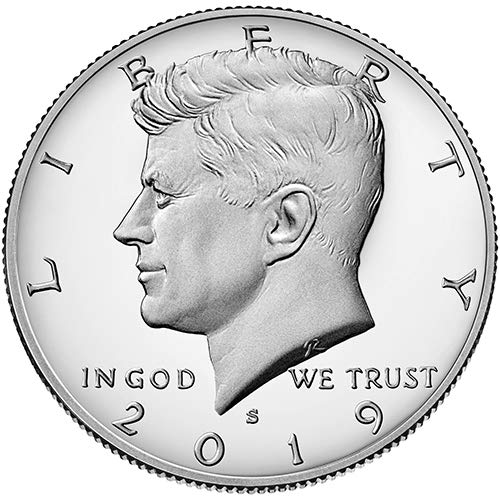 2019 S Clad Proof Kennedy Half Dollar Choice Uncirculated US Mint ()