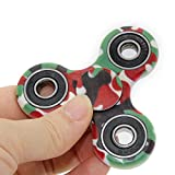 PUNING Fidget Spinner Toy Stress Reducer EDC Focus Toy Relieves ADHD Anxiety Time Killer, C-4 Camouflage Green