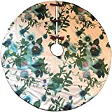 Dwell Chic Floral Patterned Tree Skirt
