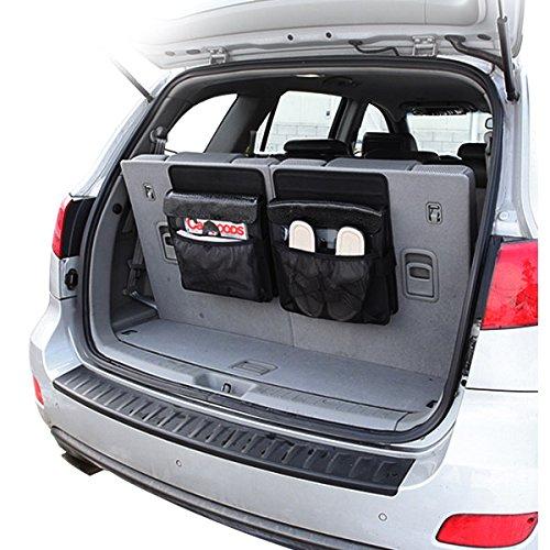 KMMOTORS トランクをより広く活用できる、整理 収納 ポケット スパイダートランク整理ポケット