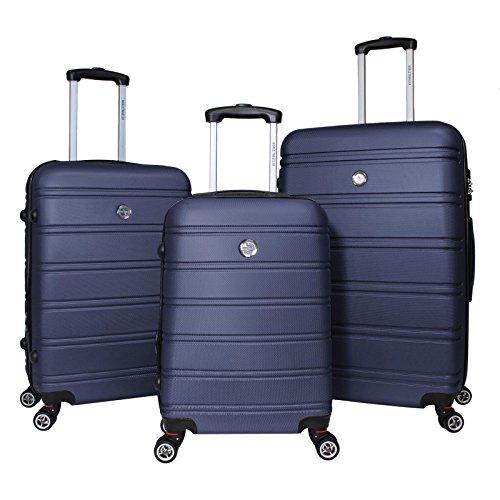 World Traveler Montreal 3-Piece Hardside Tsa Spinner Luggage Set, (Luggage Set 30 Inch)