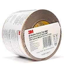 3M All Weather Flashing Tape 8067 Tan, 4 in x 75 ft Slit Liner (Pack of 1)