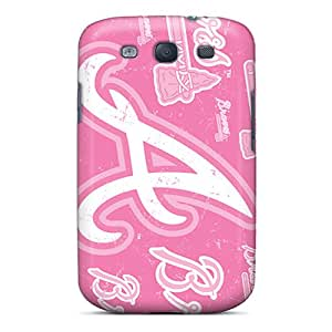 MansourMurray Samsung Galaxy S3 Best Hard Phone Cover Customized High-definition Atlanta Braves Series [gua18561KRfx]