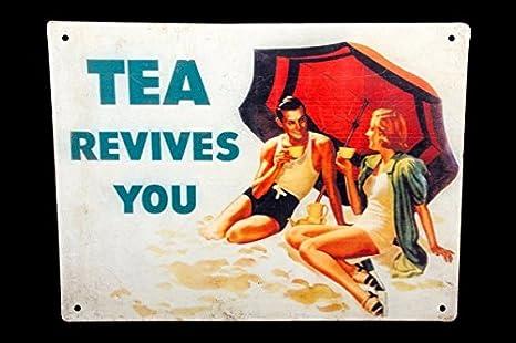 Amazon.com: Global Art mundo antiguo Vintage Old té te ...
