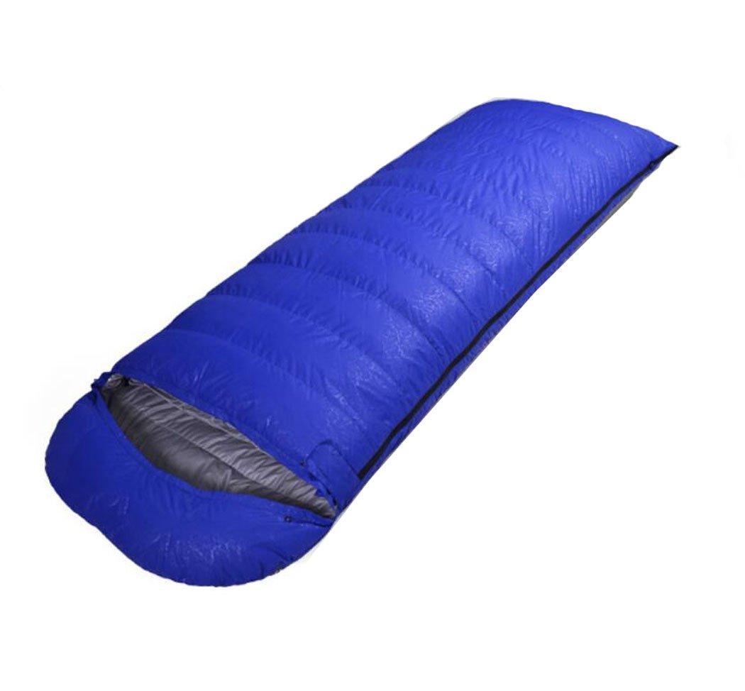 Mzq-jj Sac de Couchage imperméable à l'eau avec Sac de Compression Sac à Double Couchage Sac de Couchage à Sac de Couchage en Plein air 1000g -